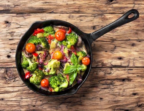 Rezept für Gemüse-Frittata